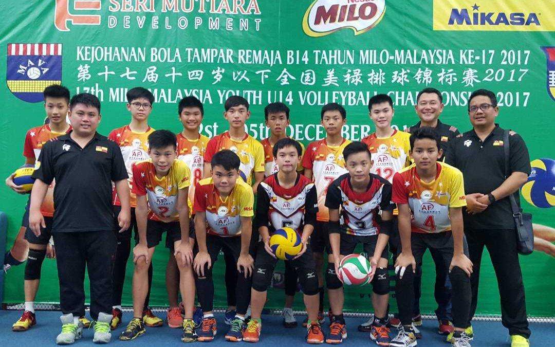 Selangor Volleyball Under-14 Team