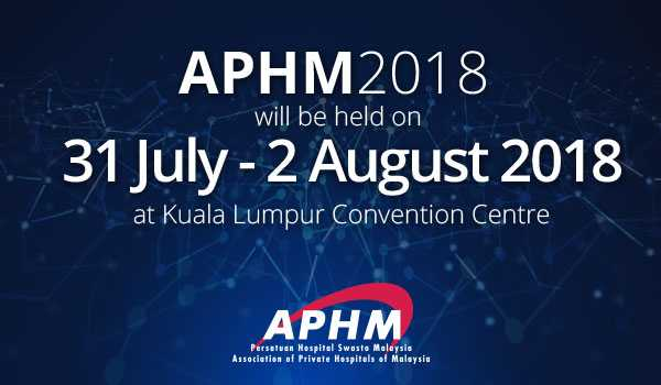 APHM International Healthcare Conference and Exhibition 2018