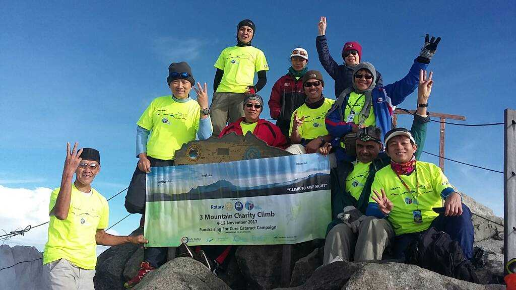 Three Mountain Charity Climb