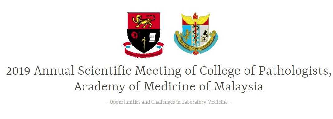 2019 Annual Scientific Meeting College of Pathologists (Cpath 2019)